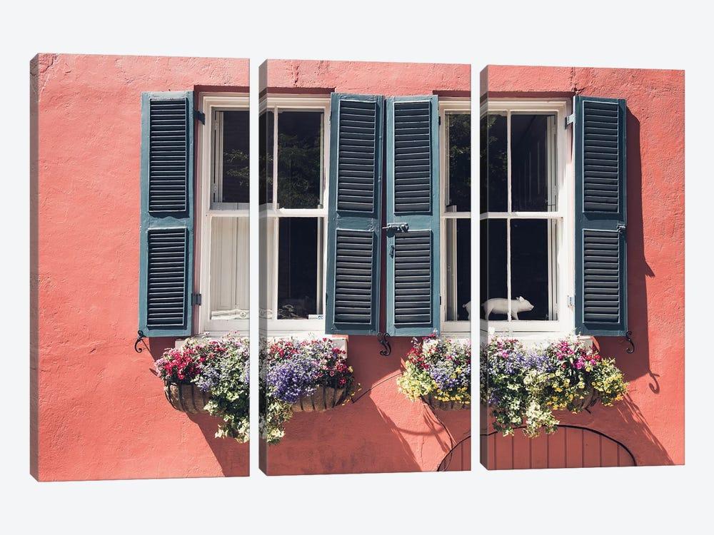 Window Charm by Bill Carson Photography 3-piece Canvas Art Print