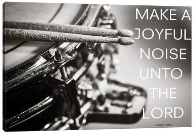 Joyful Noise Canvas Art Print