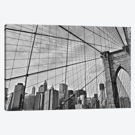 Brooklyn Bridge Canvas Print #BCP7} by Bill Carson Photography Art Print