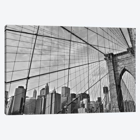 Brooklyn Bridge Canvas Print #BCP7} by Bill Carson Photography Art Print