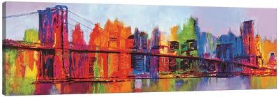 Abstract Manhattan Canvas Art Print
