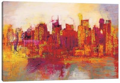 Abstract New York City Canvas Art Print