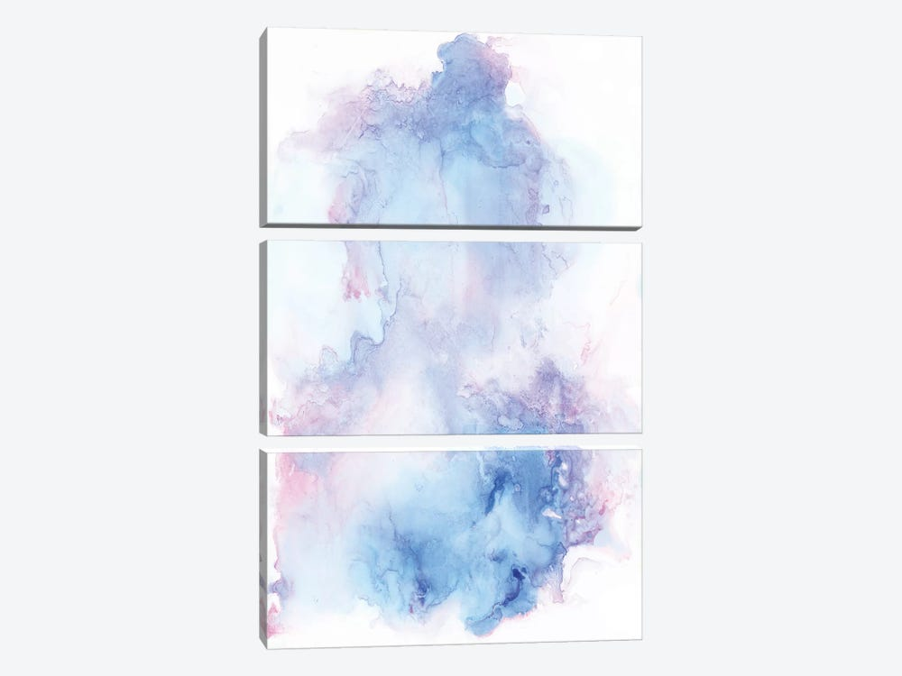 Cotton Candy by Albina Bratcheva 3-piece Canvas Art Print