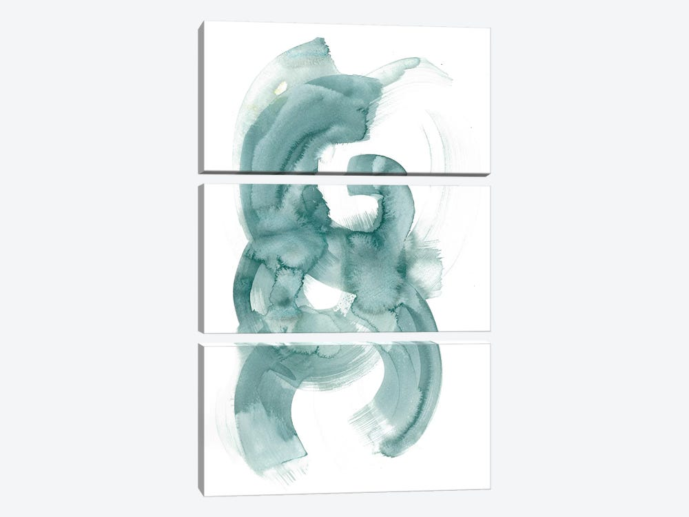 Crescent by Albina Bratcheva 3-piece Canvas Print