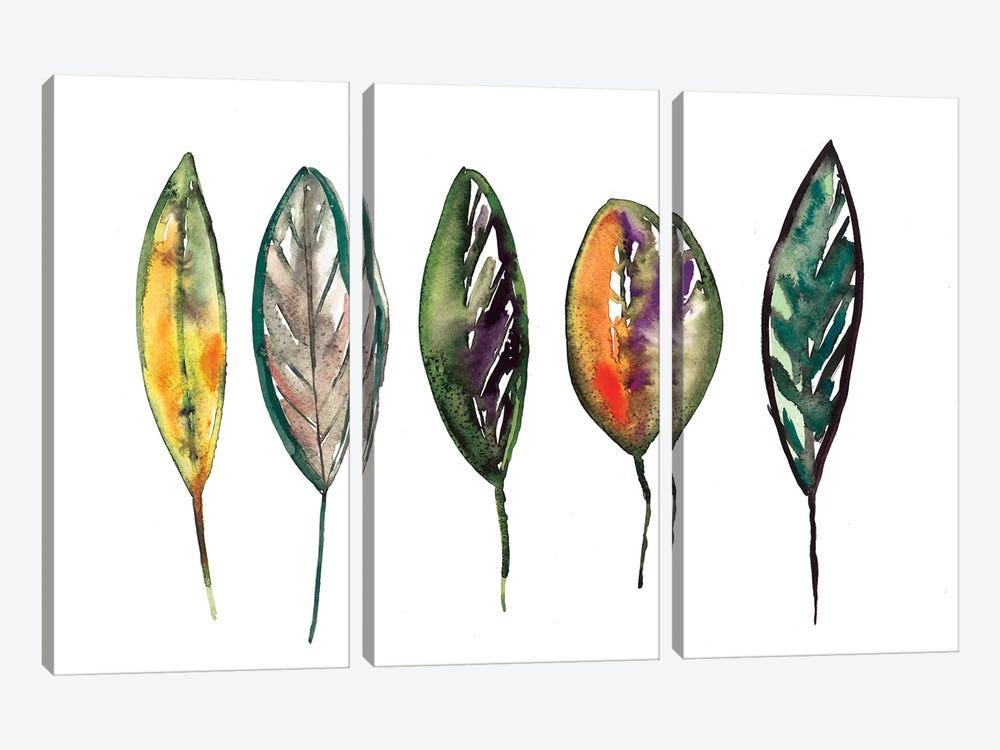 Feathers by Albina Bratcheva 3-piece Art Print