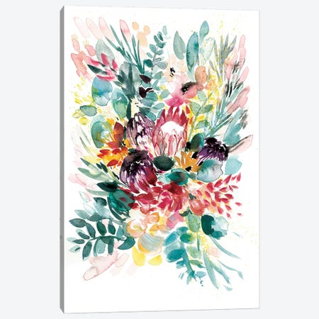 Floral Bouquet I Canvas Print #BCV18} by Albina Bratcheva Canvas Wall Art