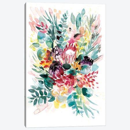 Floral Bouquet I Canvas Print #BCV18} by Albina Bratcheva Canvas Wall Art