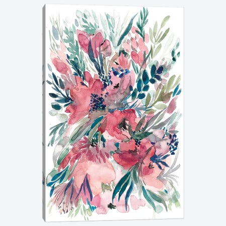 Floral Bouquet II Canvas Print #BCV19} by Albina Bratcheva Canvas Artwork