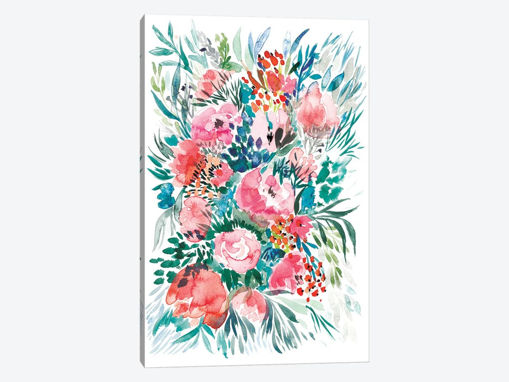 Floral Bouquet III by Albina Bratcheva 1-piece Art Print
