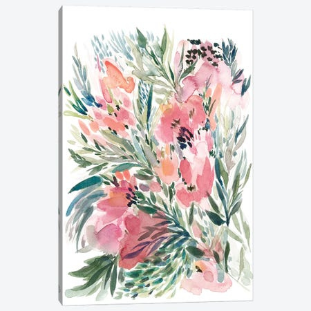 Floral Bouquet IV Canvas Print #BCV21} by Albina Bratcheva Canvas Art Print