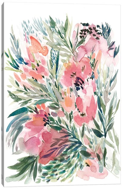 Floral Bouquet IV Canvas Art Print