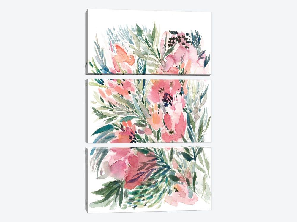 Floral Bouquet IV by Albina Bratcheva 3-piece Canvas Artwork