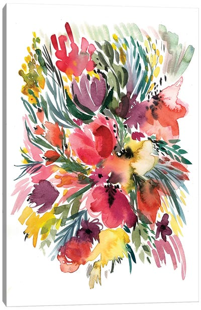 Floral Bouquet V Canvas Art Print