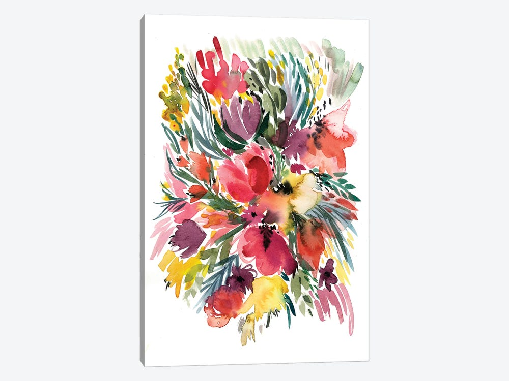 Floral Bouquet V by Albina Bratcheva 1-piece Art Print