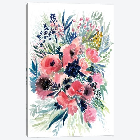Floral Bouquet VI Canvas Print #BCV23} by Albina Bratcheva Art Print