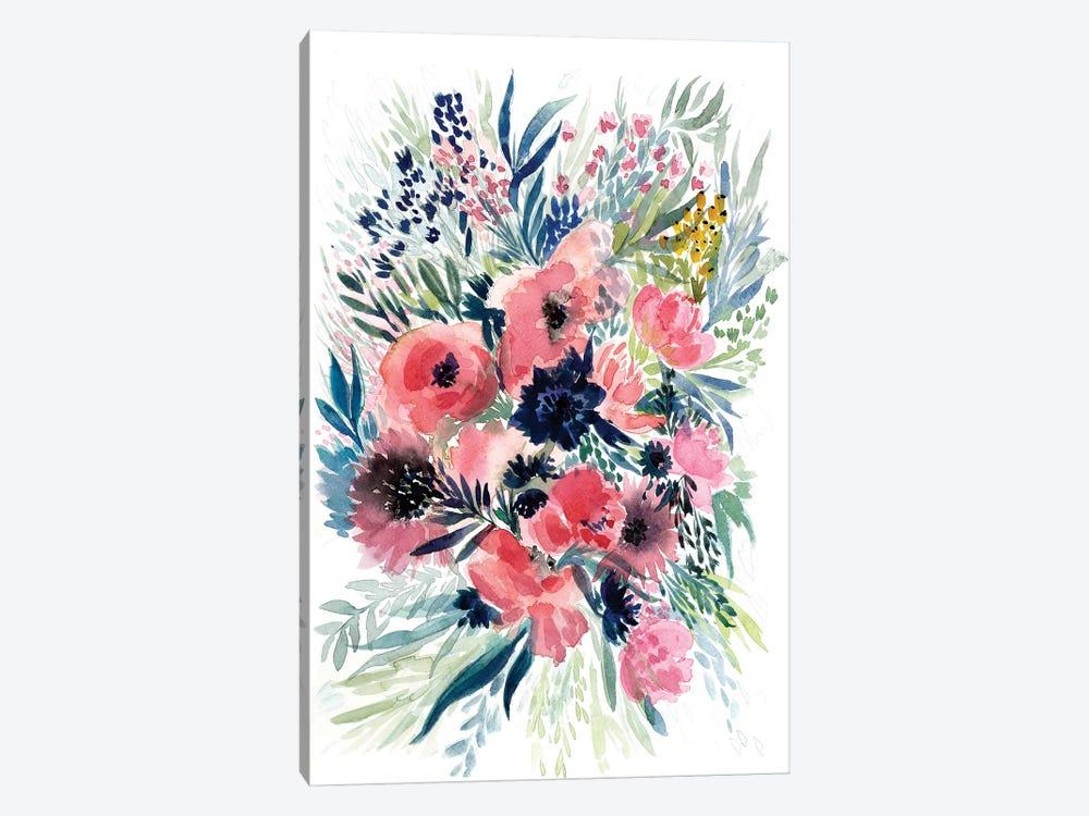 Floral Bouquet VI by Albina Bratcheva 1-piece Canvas Artwork
