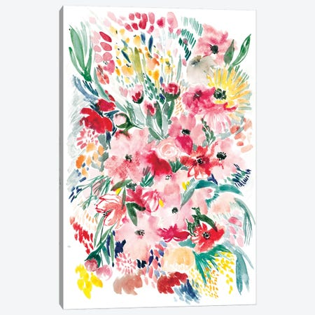 Floral Field I Canvas Print #BCV24} by Albina Bratcheva Canvas Wall Art