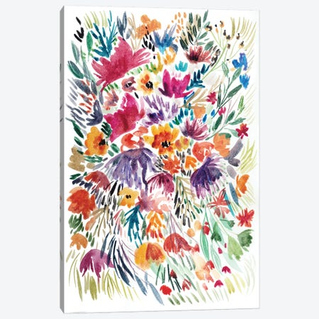 Floral Field II Canvas Print #BCV25} by Albina Bratcheva Canvas Artwork