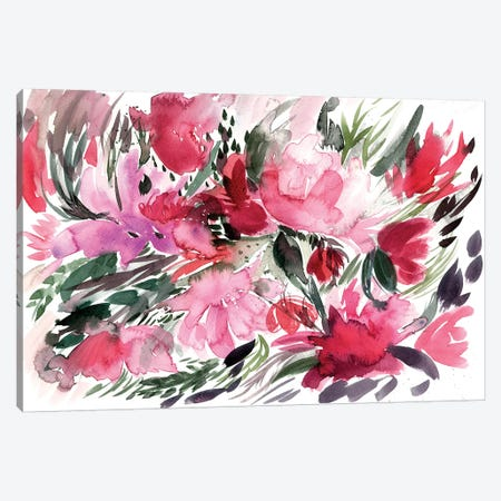 Floral Field IV Canvas Print #BCV27} by Albina Bratcheva Canvas Art