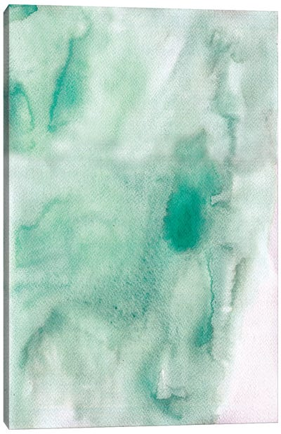 Beach Abstract Canvas Art Print