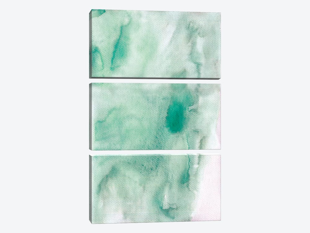 Beach Abstract by Albina Bratcheva 3-piece Art Print
