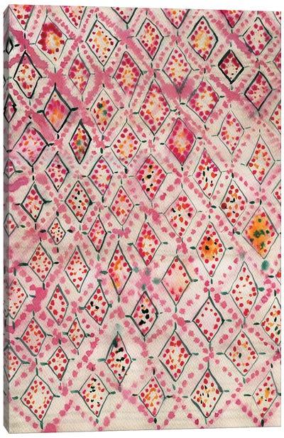 Moroccan Rug I Canvas Art Print