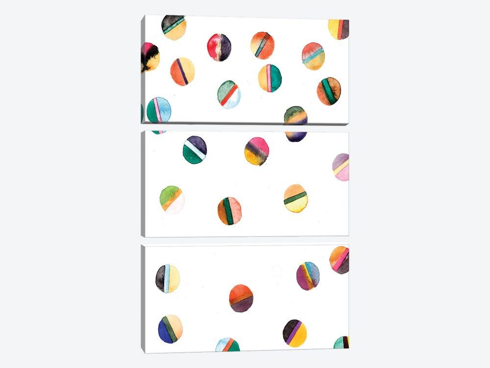 Orbs by Albina Bratcheva 3-piece Art Print