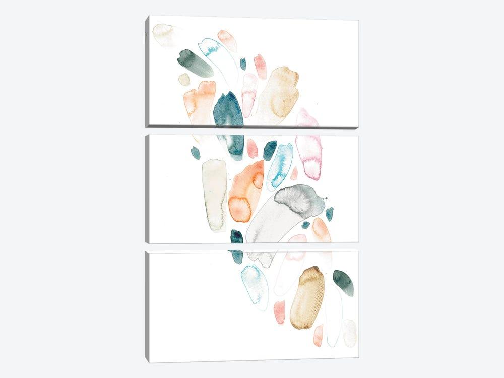Pebbles by Albina Bratcheva 3-piece Canvas Print
