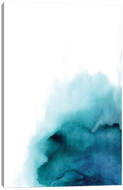 Blue Drop Canvas Art Print