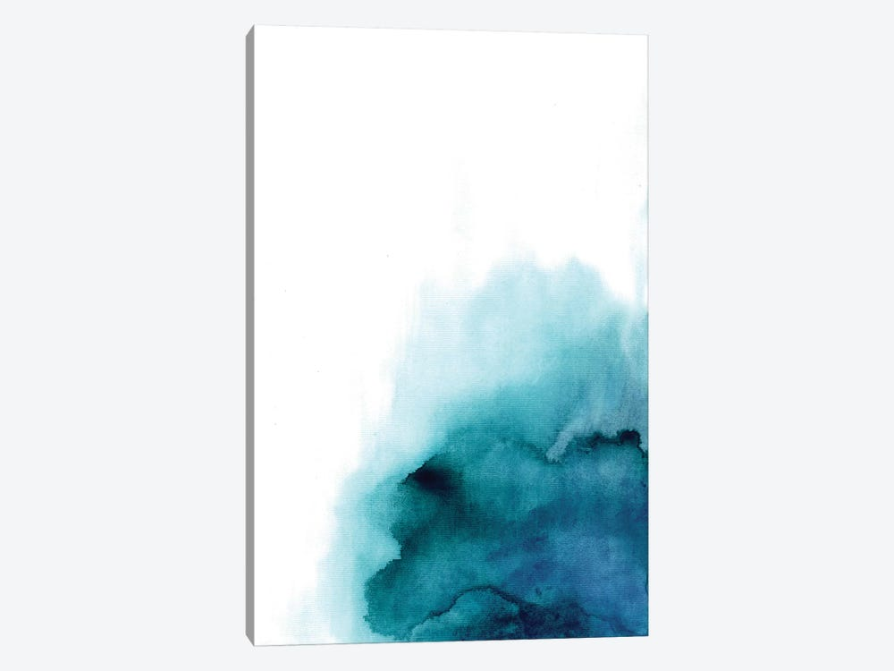 Blue Drop by Albina Bratcheva 1-piece Canvas Art Print