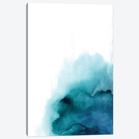 Blue Drop Canvas Print #BCV4} by Albina Bratcheva Canvas Art Print