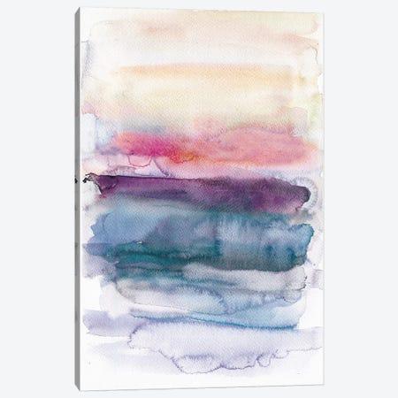 Sunset Abstract  3-Piece Canvas #BCV52} by Albina Bratcheva Canvas Wall Art