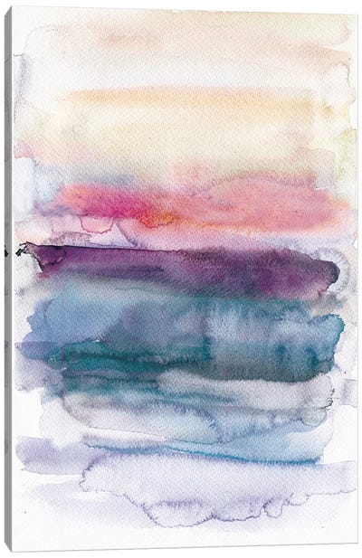 Sunset Abstract  Canvas Art Print