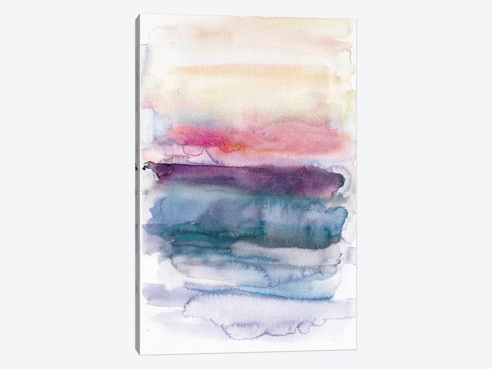 Sunset Abstract  by Albina Bratcheva 1-piece Canvas Wall Art