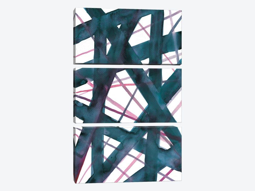 Tangled II by Albina Bratcheva 3-piece Canvas Artwork