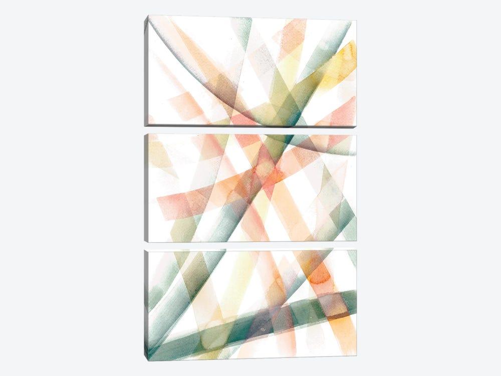 Tangled III by Albina Bratcheva 3-piece Canvas Art Print