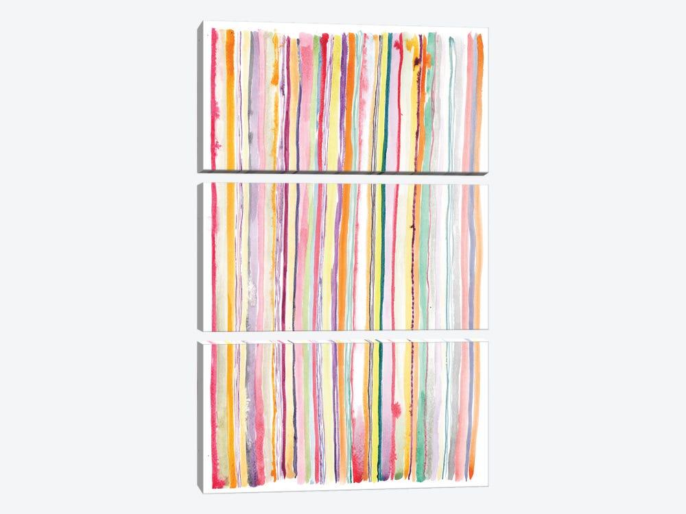 Watercolor Abstract I by Albina Bratcheva 3-piece Canvas Wall Art