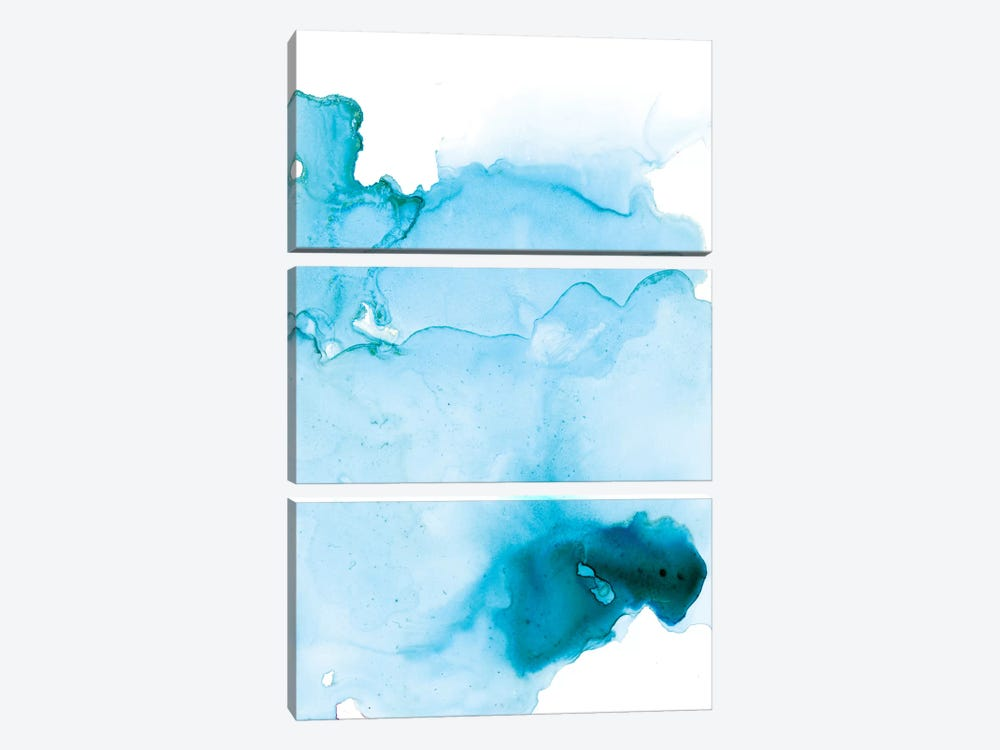 Watercolor Abstract II by Albina Bratcheva 3-piece Canvas Art Print