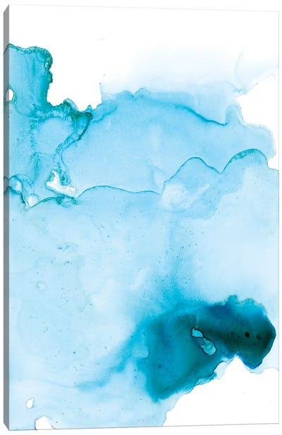 Watercolor Abstract II Canvas Art Print