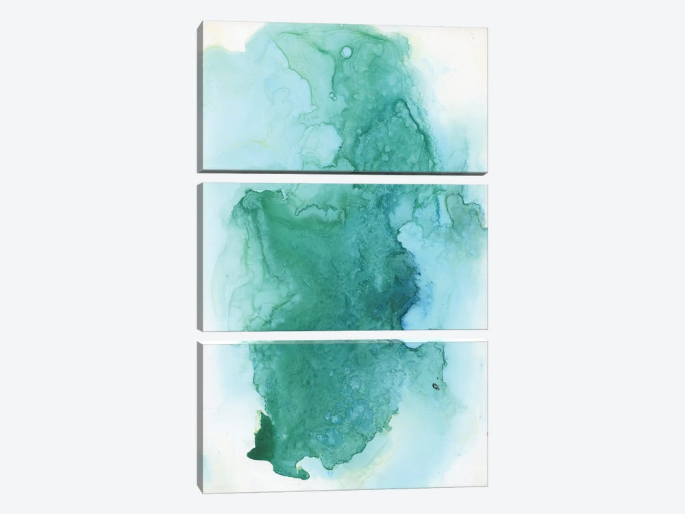 Watercolor Abstract III by Albina Bratcheva 3-piece Canvas Artwork