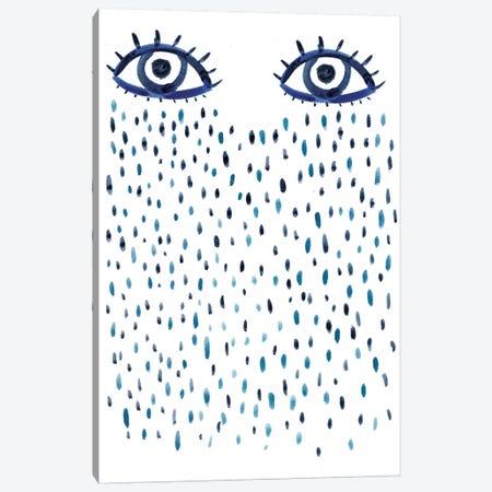 Blue Eyes Canvas Print #BCV5} by Albina Bratcheva Art Print