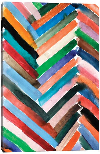 Watercolor Abstract VI Canvas Art Print