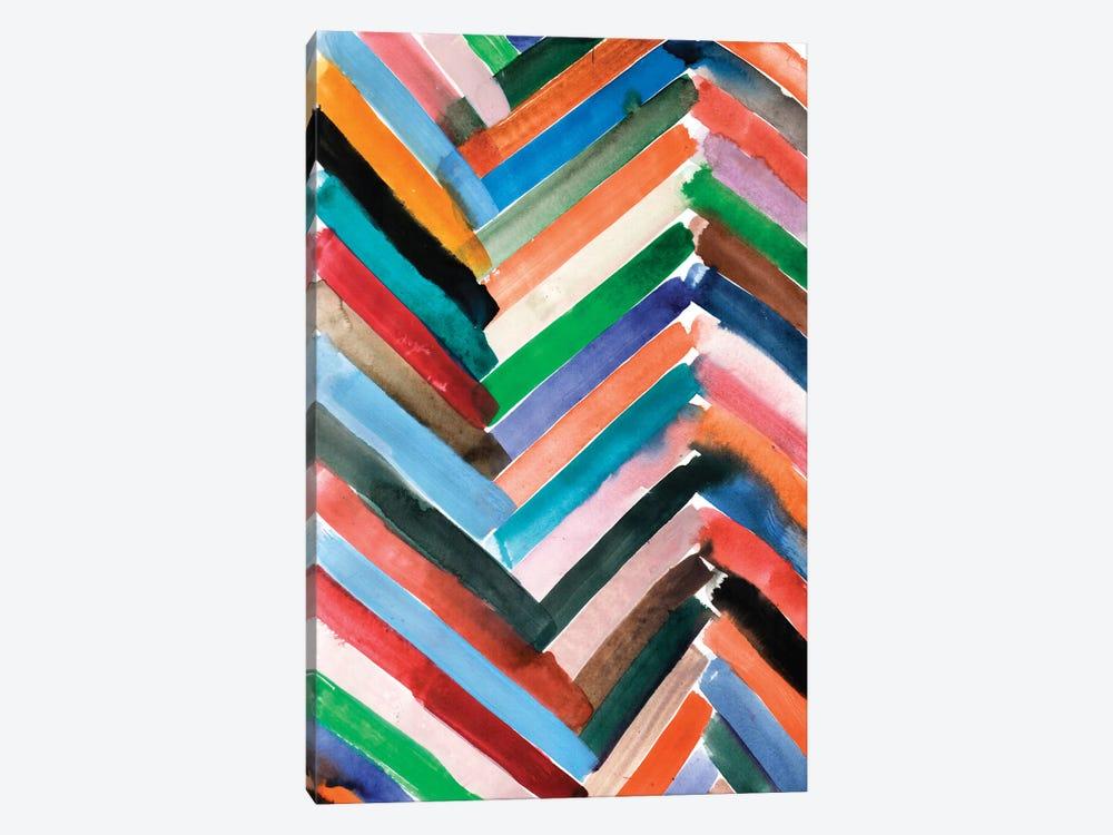 Watercolor Abstract VI by Albina Bratcheva 1-piece Canvas Artwork