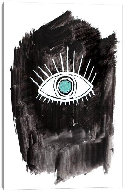 Wide-Eyed Canvas Art Print