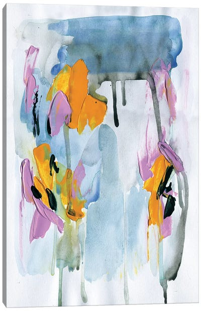 Dripping Wet Canvas Art Print