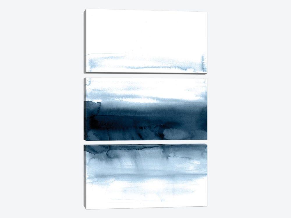 Blue Velvet by Albina Bratcheva 3-piece Canvas Art Print