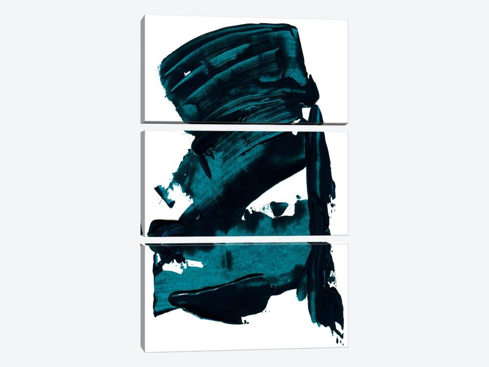 Blue Dreams by Albina Bratcheva 3-piece Art Print