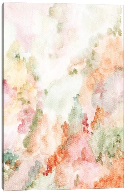 Pastel Forest Canvas Art Print