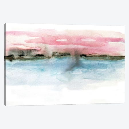 Coastline Canvas Print #BCV8} by Albina Bratcheva Canvas Artwork