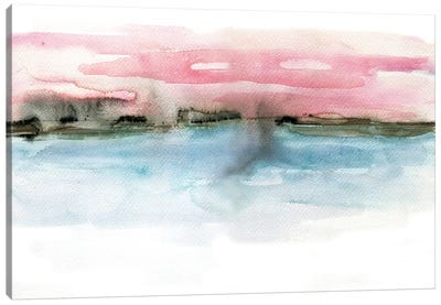 Coastline Canvas Art Print